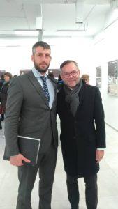 Герман Мойжес, управляющий АВЕРС в Германии, и Михаэль Рот, министр по делам Европы